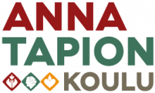 Anna Tapion koulun logo